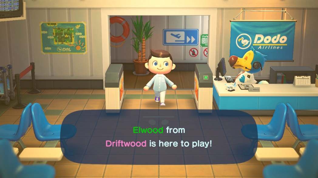 New Horizons Island : Elijah Wood Apparently Came To Someone's Animal Crossing