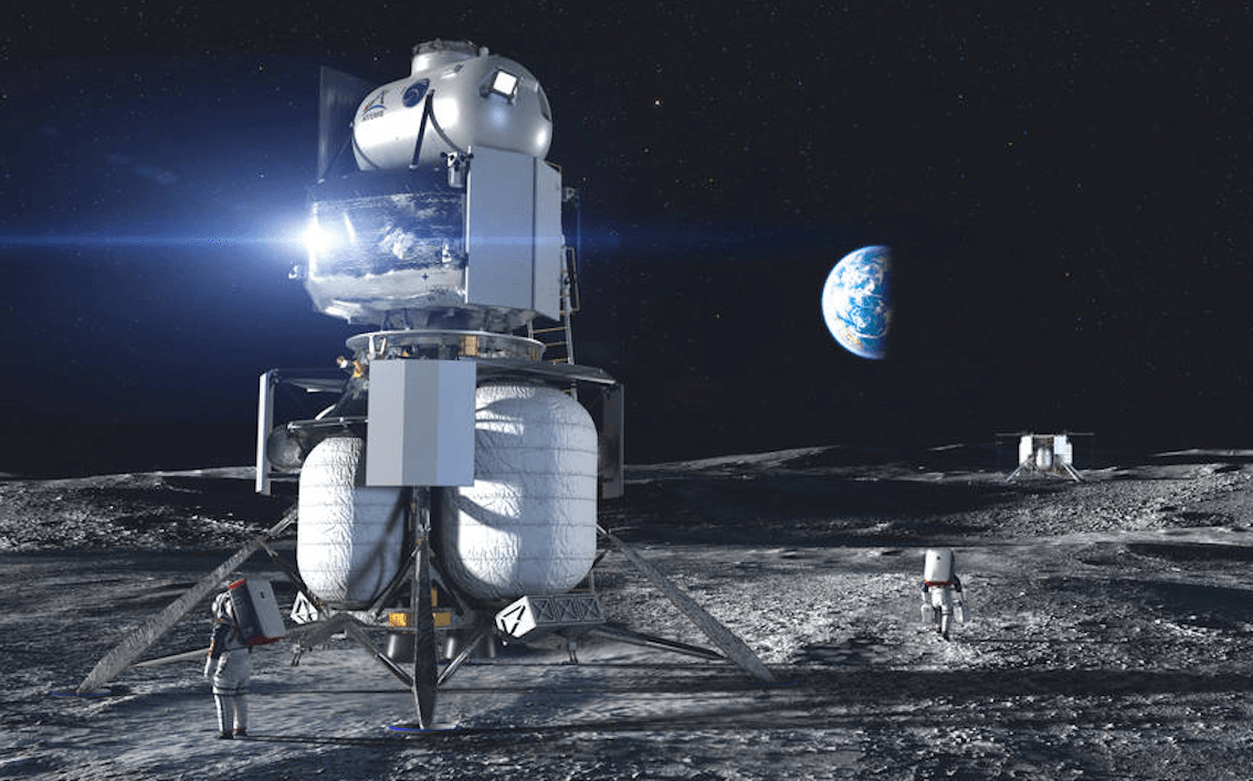 NASA competition Boeing left out of NASA's lunar lander competition