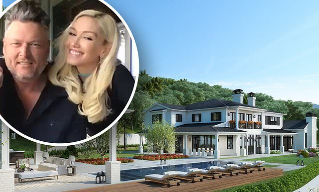 Gwen Stefani and Blake Shelton buy HUGE $13 million mansion together in Encino