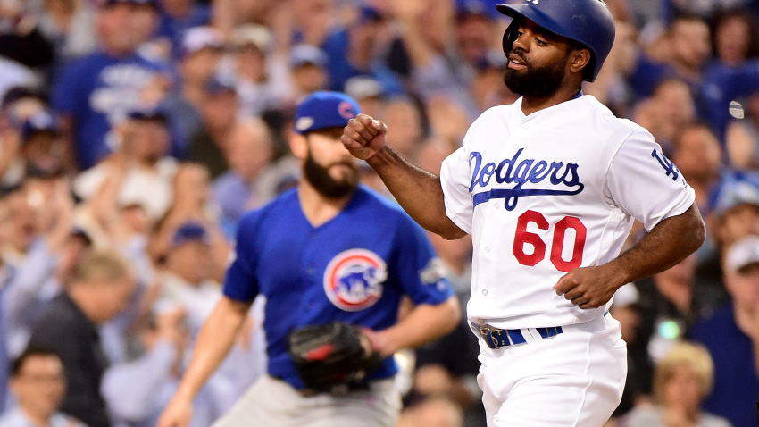 Andrew Toles jailed in Florida on trespassing charge