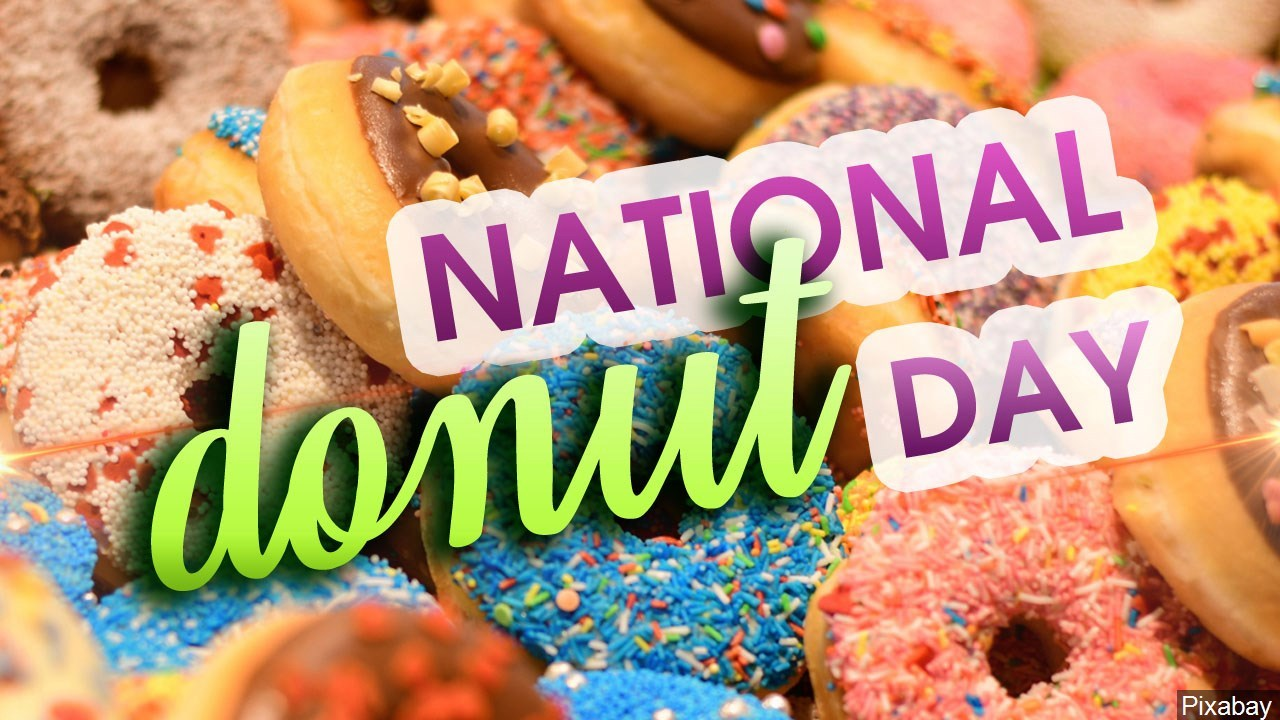 Its National Donut Day Here's Where to Get a Free Donut