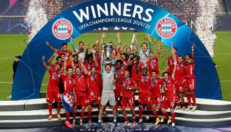 Bayern Munich wins the Champions League 2020