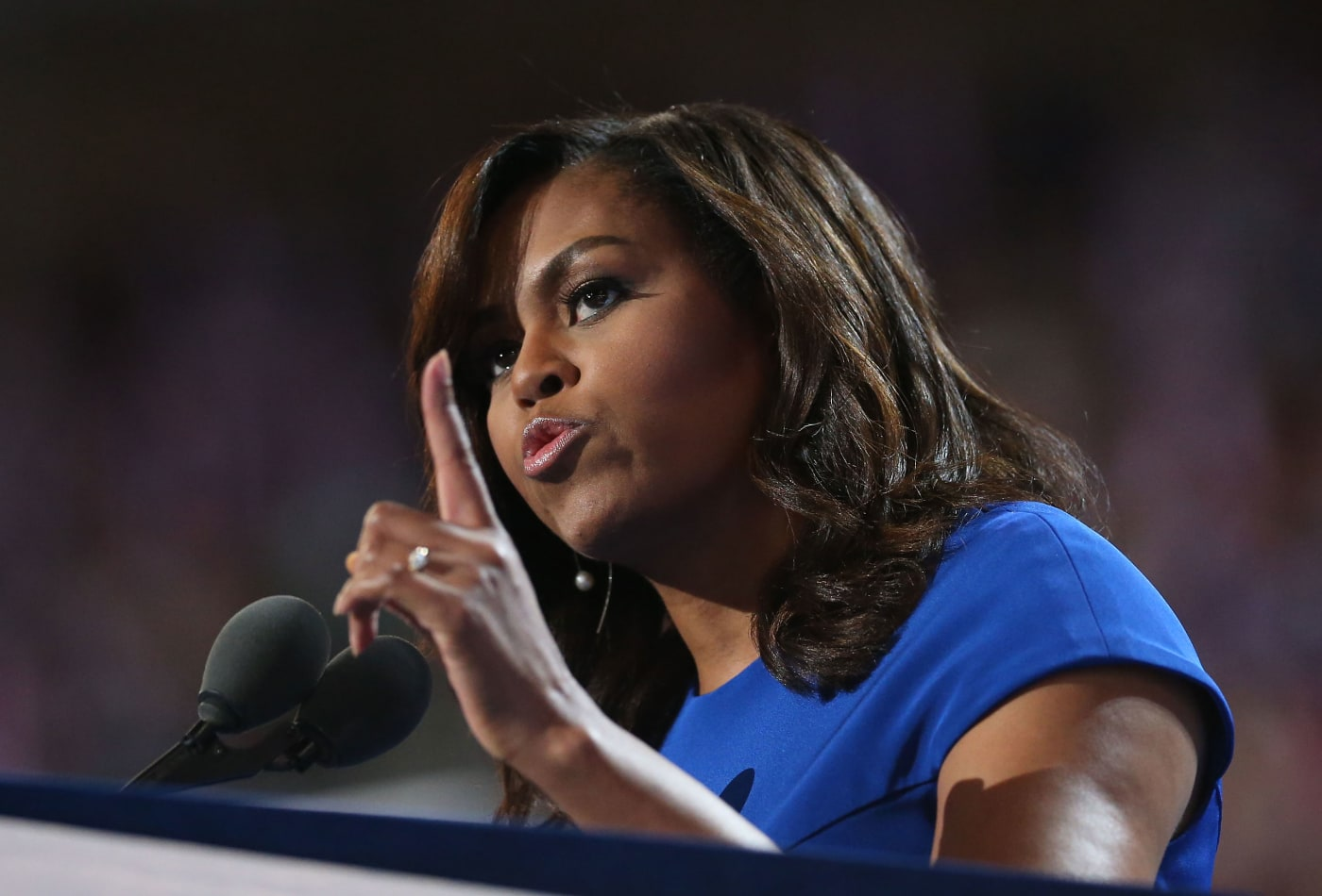 Michelle Obama Rips Trump As 'Clearly In Over His Head'