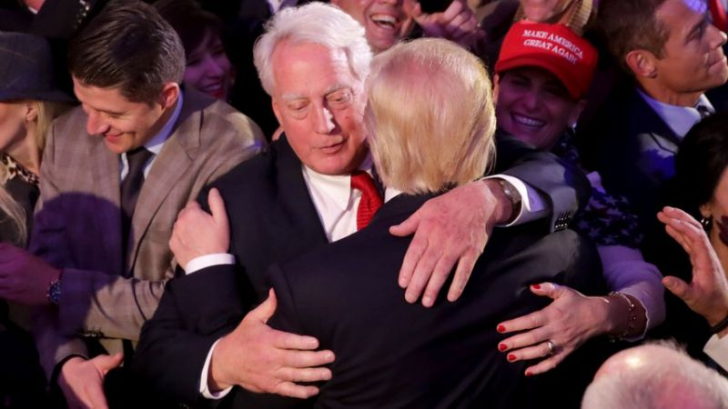 Robert Trump, Donald Trump's younger brother, has died at 71