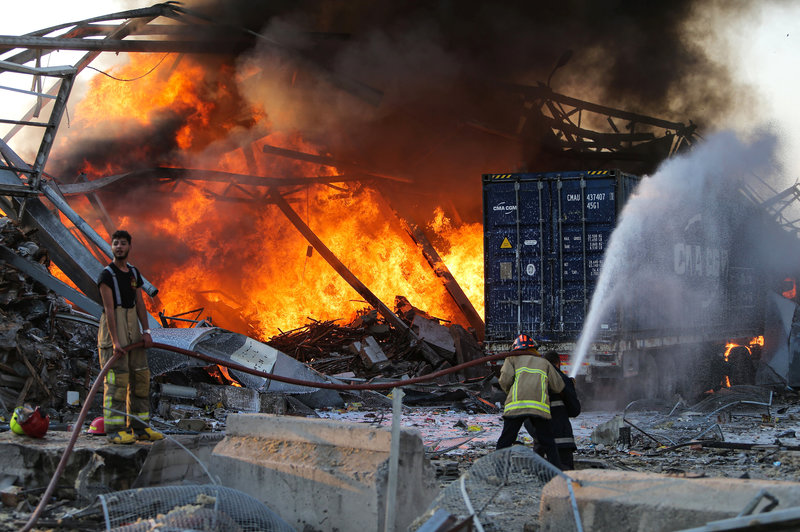 Beirut explosion photos: Explosion Leaves Beirut In Shatters As Cleanup Begins