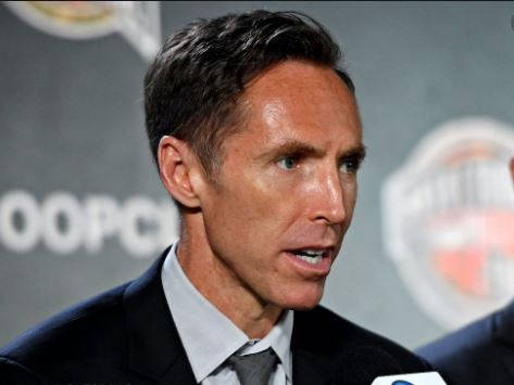Steve Nash has been appointed as coach of the Brooklyn Nets