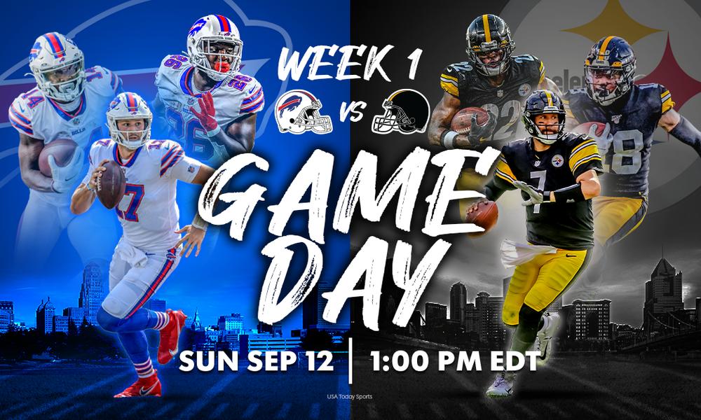 5 Ways to Watch: Steelers vs. Bills